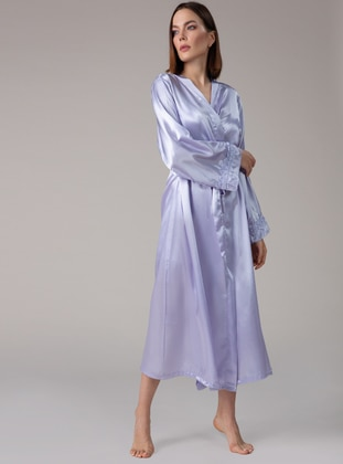 Lilac - Morning Robe - Artış Collection
