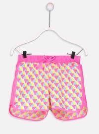 Yellow - Girls` Swimsuit