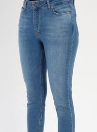 Indigo - Denim - Pants