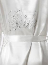 White - Ecru - Morning Robe