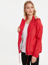 Red - Trench Coat