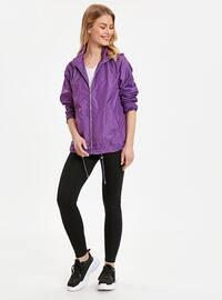Purple - Trench Coat