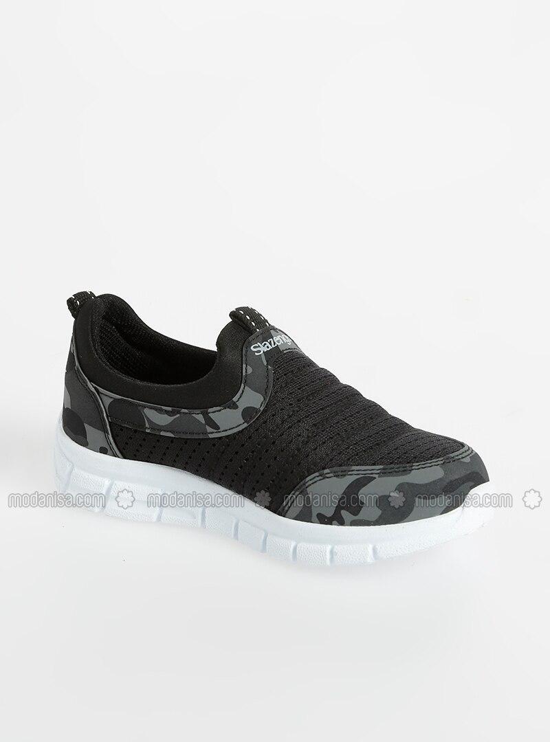 6ba29c9a0c68a Black - Sport - Girls` Shoes