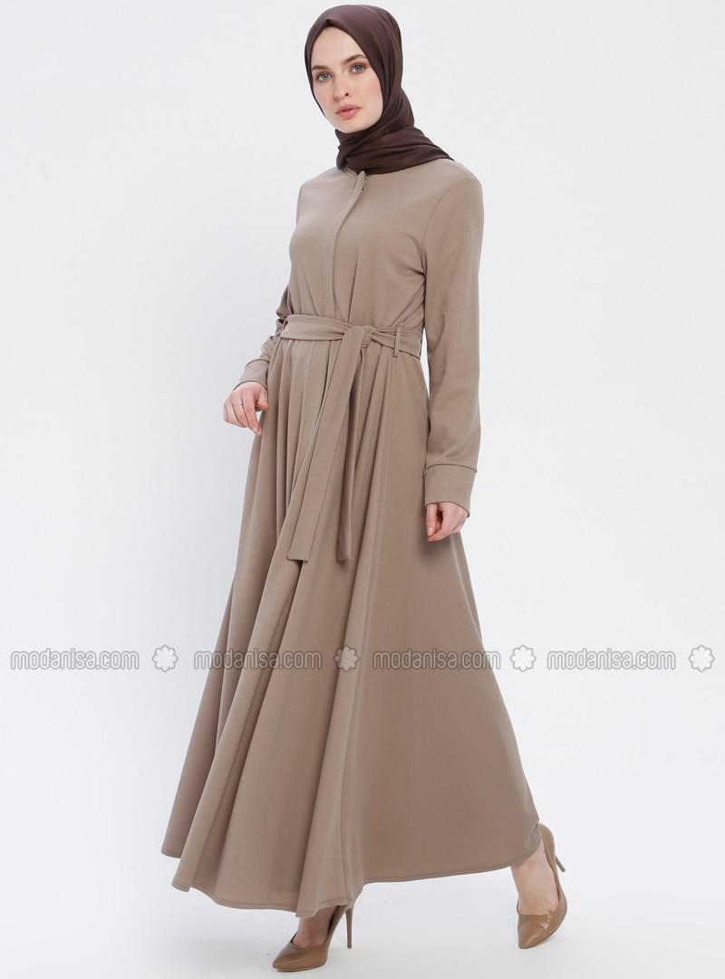 Minc - Unlined - Crew neck - Abaya