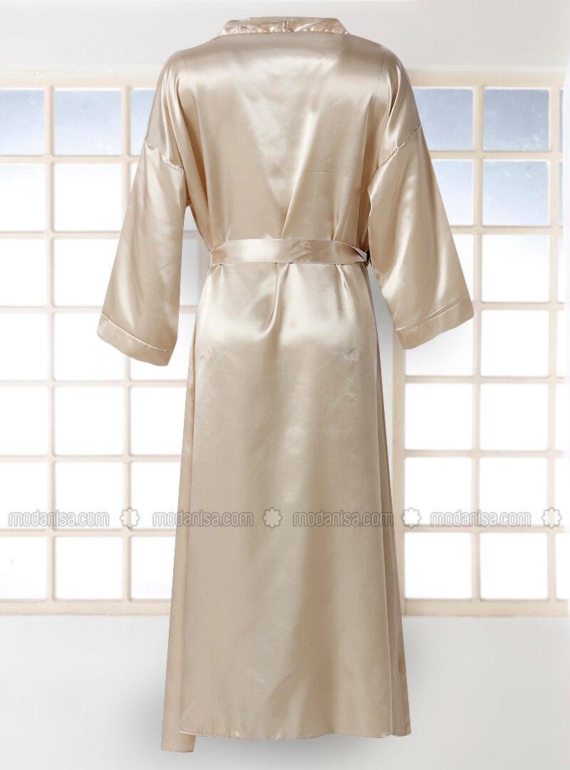 Beige Morning Robe