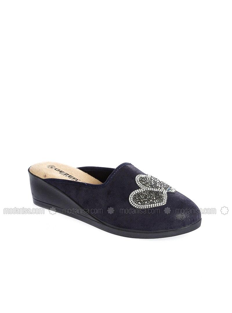 a2446e3e1000 Navy Blue - Sandal - Shoes. Fotoğrafı büyütmek için tıklayın