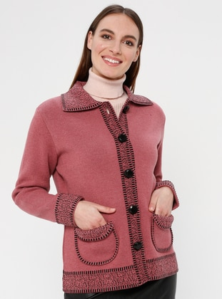 Dusty Rose - Unlined - Point Collar -  - Jacket