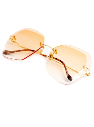Orange - Sunglasses - Merve Dağlı Güneş Gözlüğü