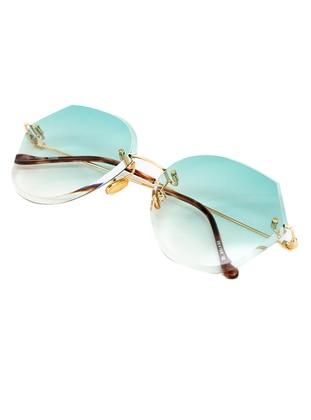 Green - Sunglasses - Merve Dağlı Güneş Gözlüğü