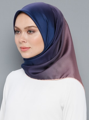 Multi - Plain - %100 Silk - Twill - Shawl