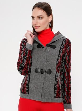 Black - Gray - Maroon - Multi - Unlined -  - Jacket