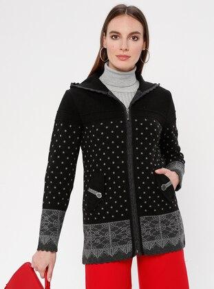 Black - Anthracite - Multi - Unlined -  - Jacket