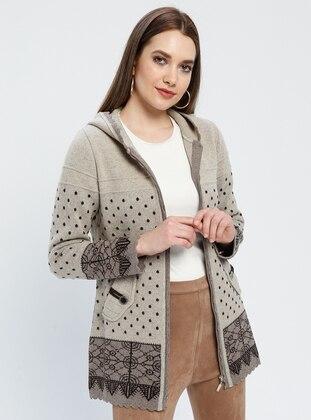 Brown - Minc - Multi - Unlined -  - Jacket