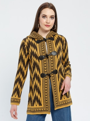 Yellow - Brown - Multi - Unlined -  - Jacket