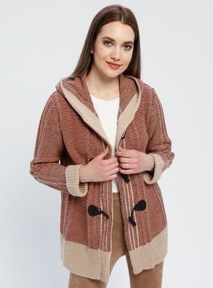 Minc - Tan - Multi - Unlined -  - Jacket