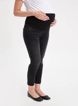 Black - Maternity Pants