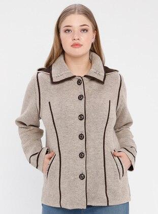 Minc - Point Collar - Unlined -  - Plus Size Jacket