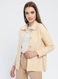 Salmon - Unlined - Point Collar -  - Jacket
