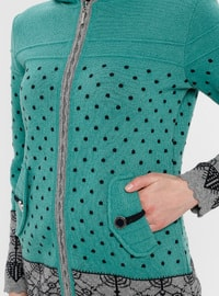 Green - Gray - Multi - Unlined -  - Jacket