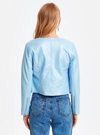 Blue - Puffer Jackets