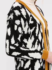 Multi - Multi - Shawl Collar - Acrylic - Cardigan
