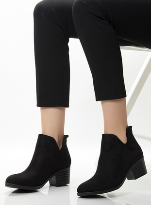Black - Boot - Casual - Shoes