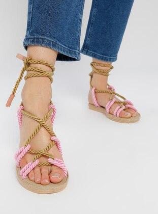 Pink - Sandal - Slippers