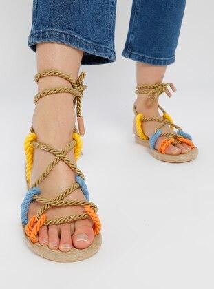 Multi - Sandal - Slippers