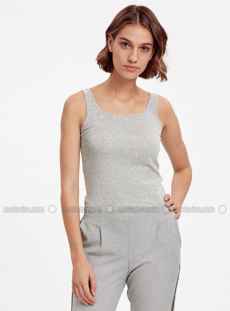 Gray - Undershirt
