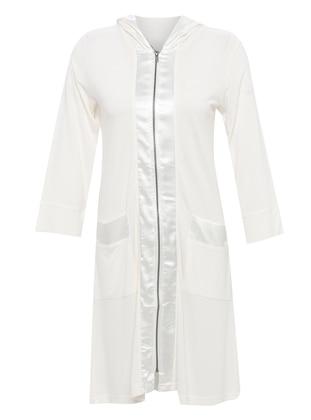 White - Morning Robe