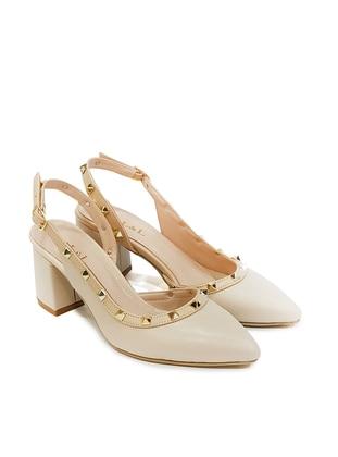 Beige - High Heel - Casual - Shoes