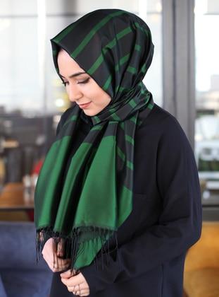 Emerald - Striped - Shawl