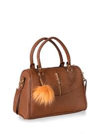 Tan - Shoulder Bags - Abba