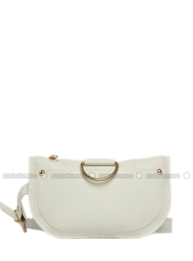 White - Satchel - Bum Bag