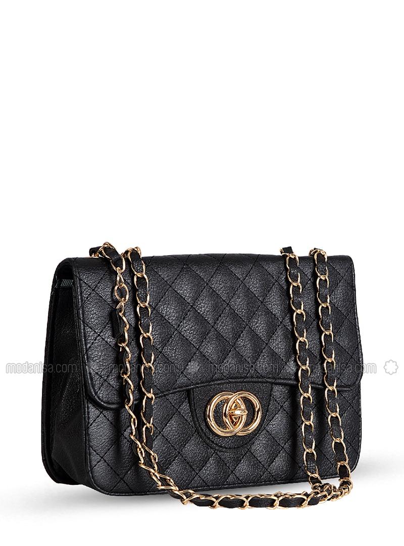 Black - Shoulder Bags - Abba