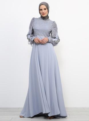 Mavi Tesettür Abiye Modelleri ve Fiyatları - Modanisa com