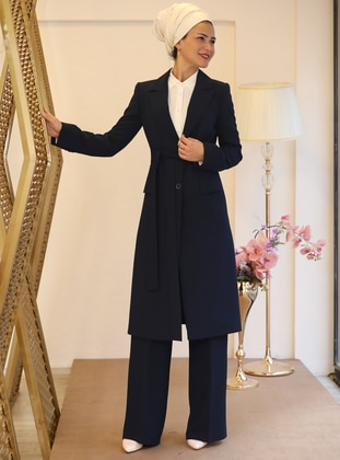 Navy Blue - Fully Lined - Suit