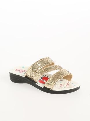Gold - Sandal - Shoes