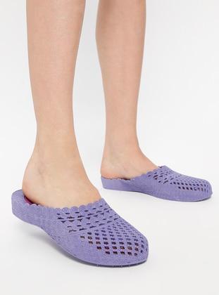Purple - Sandal - Shoes