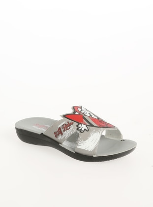 Gray - Sandal - Shoes