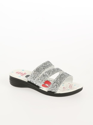 Silver tone - Sandal - Shoes