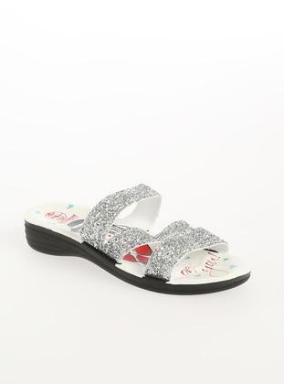 Silver tone - Sandal - Shoes