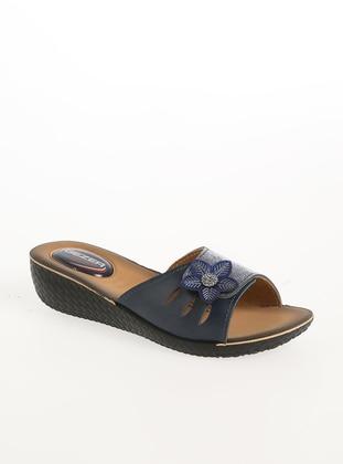 Navy Blue - Sandal - Shoes