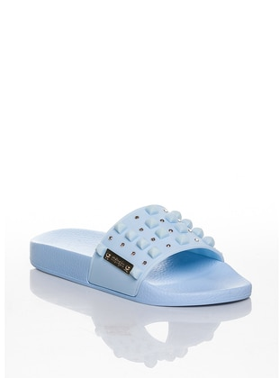 Blue - Sandal - Slippers - Efem