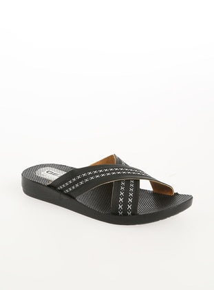 Black - Sandal - Shoes