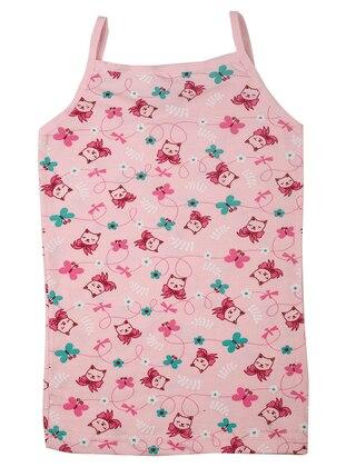Multi - Pink - Multi - Girls` Underwear - Akbeniz Kids