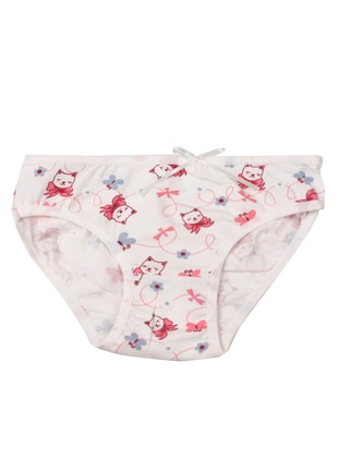 Multi - Pink - Multi - Girls` Underwear - Akbeniz Kids