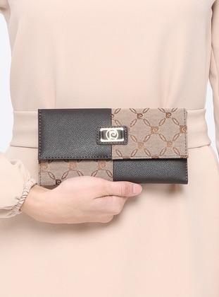 Brown - Wallet - Pierre Cardin Çanta