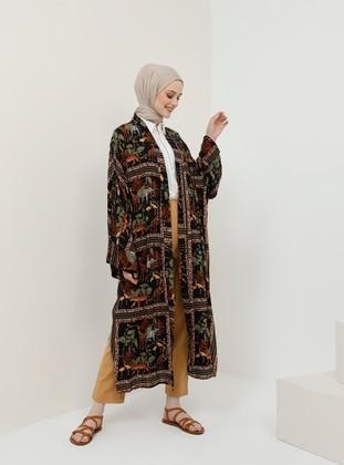 Black - Multi - Unlined - Cotton - Topcoat