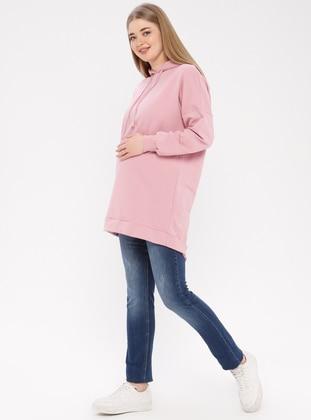 Blue - Denim - Maternity Pants